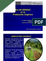 Rol SENASA Produccion Organica