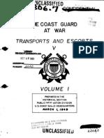 Coast Guard Ship Convoys