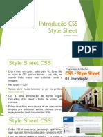 Aula 01 Introdução CSS