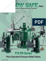 FlowSafe F70PR Bulletin