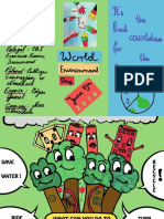 world environment day leaflet