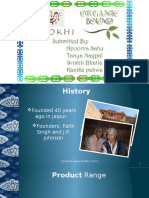 Final Presentation- Anokhi and Organic Bound