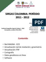 Magna Sirgas Presentacion 2012