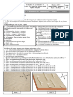 SVT Evaluation 1  1ère année bac sciences maths Option française