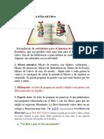 50 Actividades Para El Día Del Libro