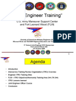 Joint Engineer Training