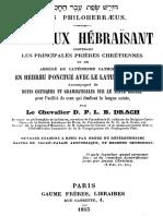 Le pieux hebraisant - D. P. L. B. Drach - Bibliothequ.pdf