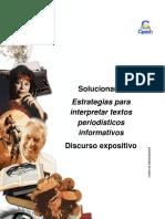 Solucionario Clase 5 Estrategias Para Interpretar Textos Periodísticos Informativos 2016 Ces