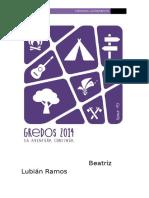 Beatriz Lubián Ramos memoria. (Autoguardado)