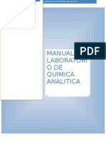 Manual Lab. Quimica Analitica