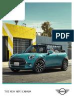 Ficha Técnica MINI Cabrio