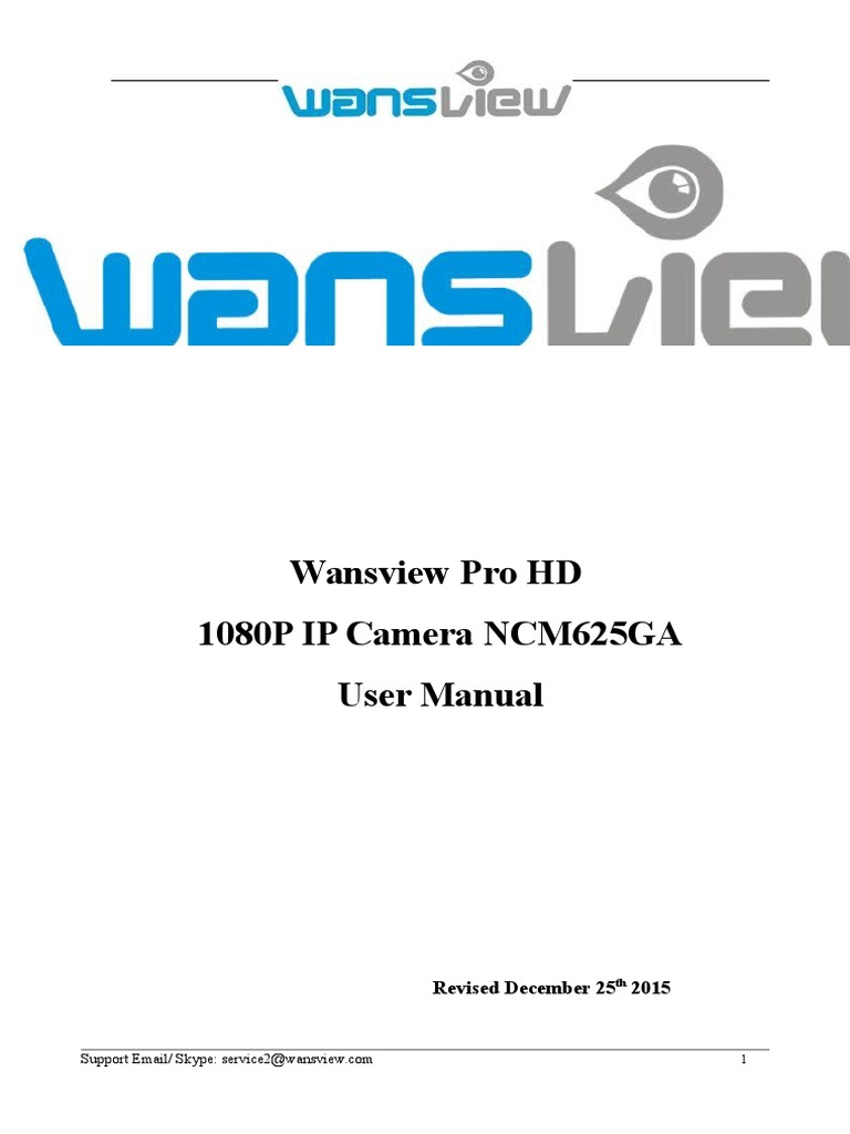 User Manual wansview | File Transfer Protocol | Wi Fi