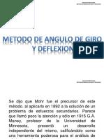 Metodo de Angulo de Giro y Deflexion