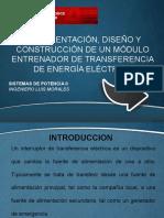 PRESENTACION TRANSFERENCIA