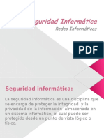 Power Point Seguridad y Redes Informaticas.