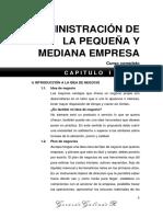 Administracion de La Pequeña y Mediana Empresa - Curso Completo