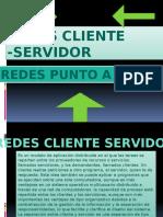Redes Cliente-servidor;Punto a Punto