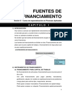 Sesion 6 - Fuentes de Financiamiento