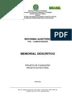Memorial Descritivo Estrutural