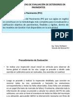 Fallas de Pavimento PCI