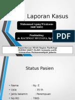 lapkas radiologi apendikogram
