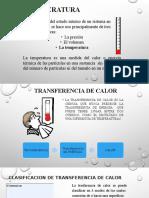 Presentacion Temperatura y Calor