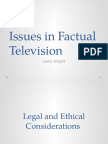Issues in Factual Television