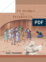 Fifty Marks of Pharisees Booklet