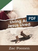 Living as Jesus Lived