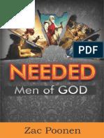 Needed - Men of God