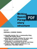 Communiveristy Week 2 Print Writing