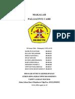 1. MAKALAH Paliative Care