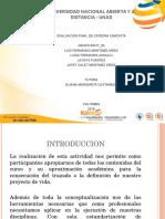 Evaluación Final Catedra Unadista 80017 93
