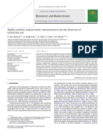Abu-Rabeah Et Al. - 2009 - Highly Sensitive Amperometric Immunosensor for the Detection of Escherichia Coli