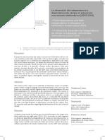20112016-La dimensión de independencia y depencia de campo estudio bases de datos -mb.pdf