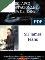 Colapso Gravitacional y Masa de Jeans