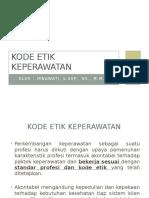 Kode Etik Keperawatan