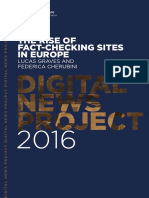 The Rise of Fact-Checking Sites in Europe