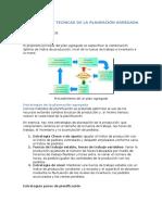 Estrategias y Tecnicas de La Planeación Agregada