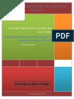 Trabajo de Investigacion Sobre La Corrupcion en Mexico.