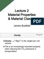 02-Properties Materials Classes