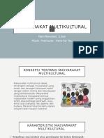 Masyarakat Multikultural