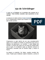 La Paradoja de Schrödinger