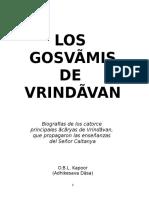 Los Goswamis de Vrindavana