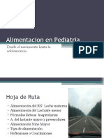 Alimentacion en Pediatria