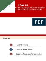 PSAK 65 Laporan Keuangan Konsolidasian
