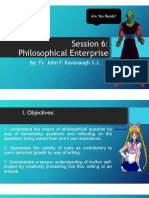 Philosophical Enterprise