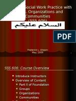 Class 1. Generalist Practice.2007