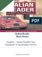 Italian Reader Short Stories