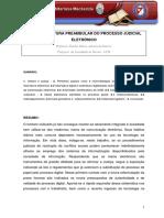 Processo Eletronico e a Informatização Dos Processos Judiciais